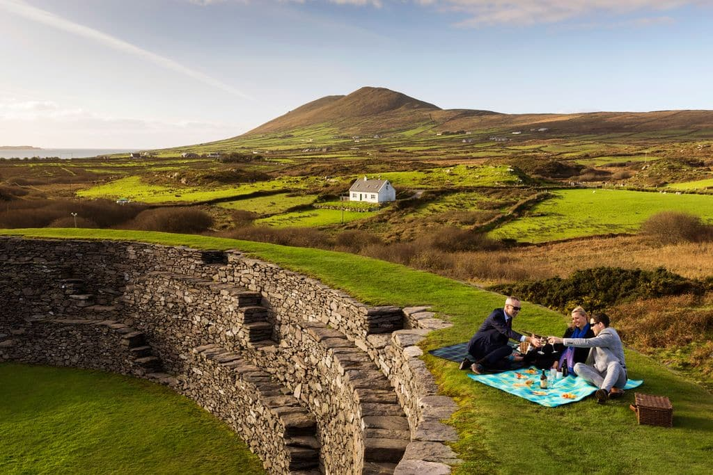 One of the top Ring of Kerry stops is Cahergal Stone Fort.