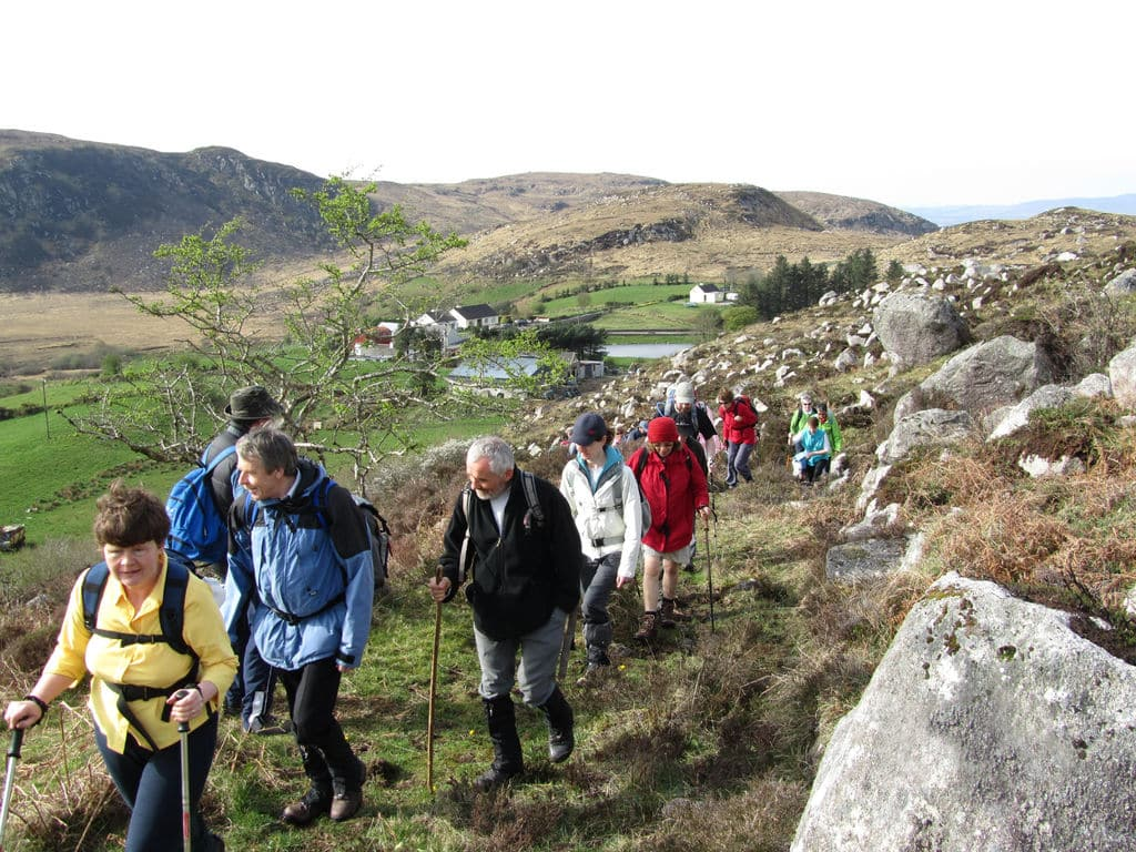 Hiking the Sligo Way is one of the best things to do in Sligo.