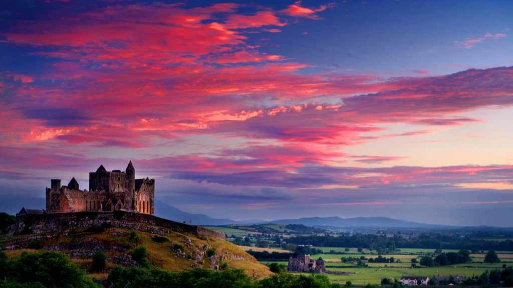 The Rock of Cashel has spectacular views and sights from its peak.