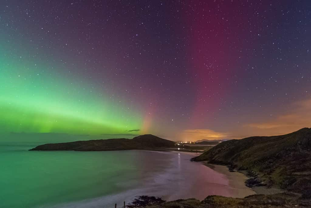 The best time of the year see the northern lights is through September to March.