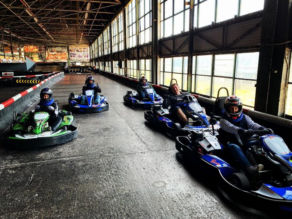 The National Kart Centre is another of the top fun things to do in Cork with kids.