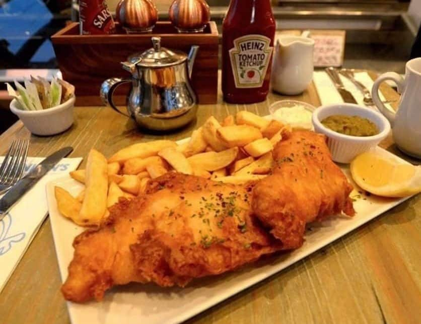 Another of the best places in Ireland to have fish and chips is Quinlans Fresh Fish and Seafood Bar.