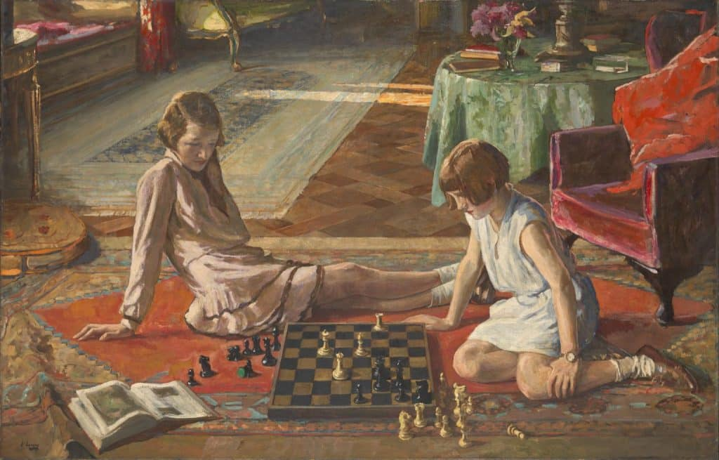 John Lavery is truly one of the most famous Irish artists.