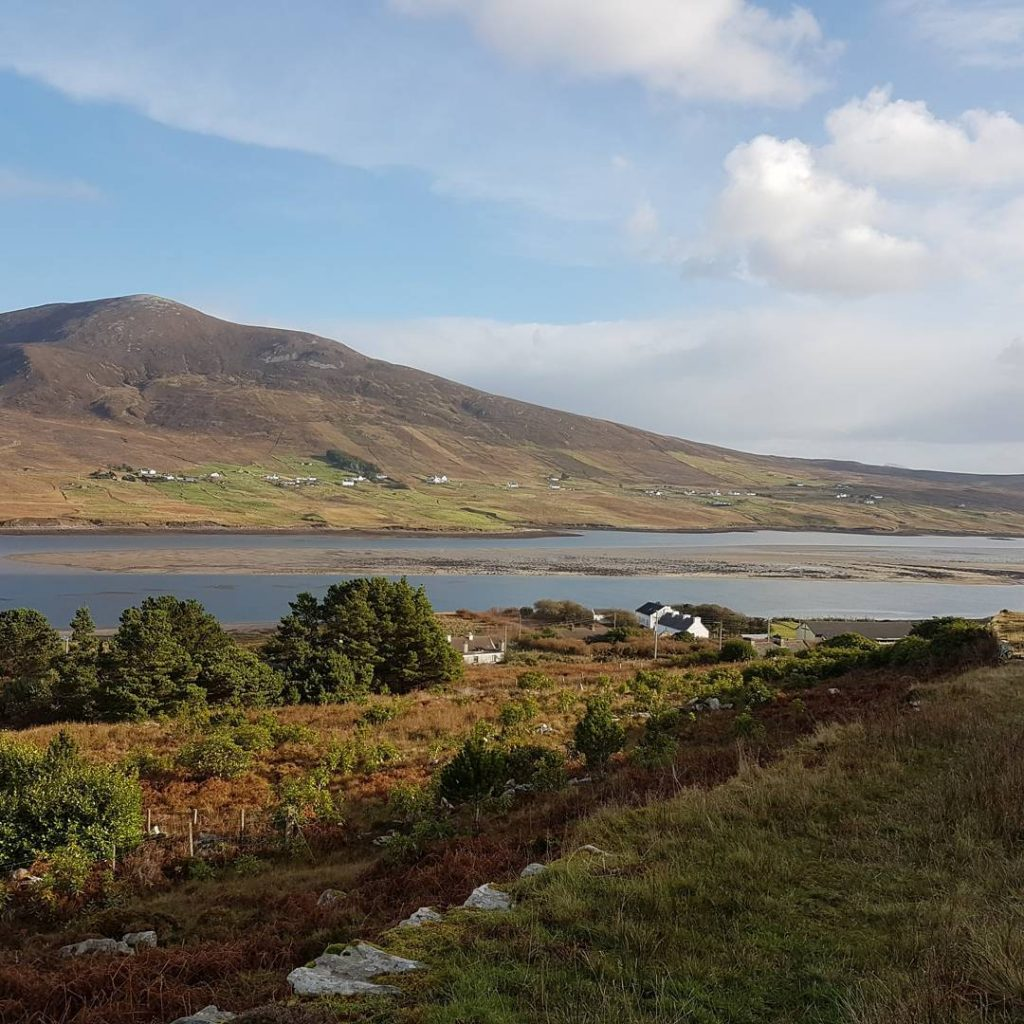 For a stunning walk, check out Sli Grainne Mhaol, one of the top best things to do on Achill Island.