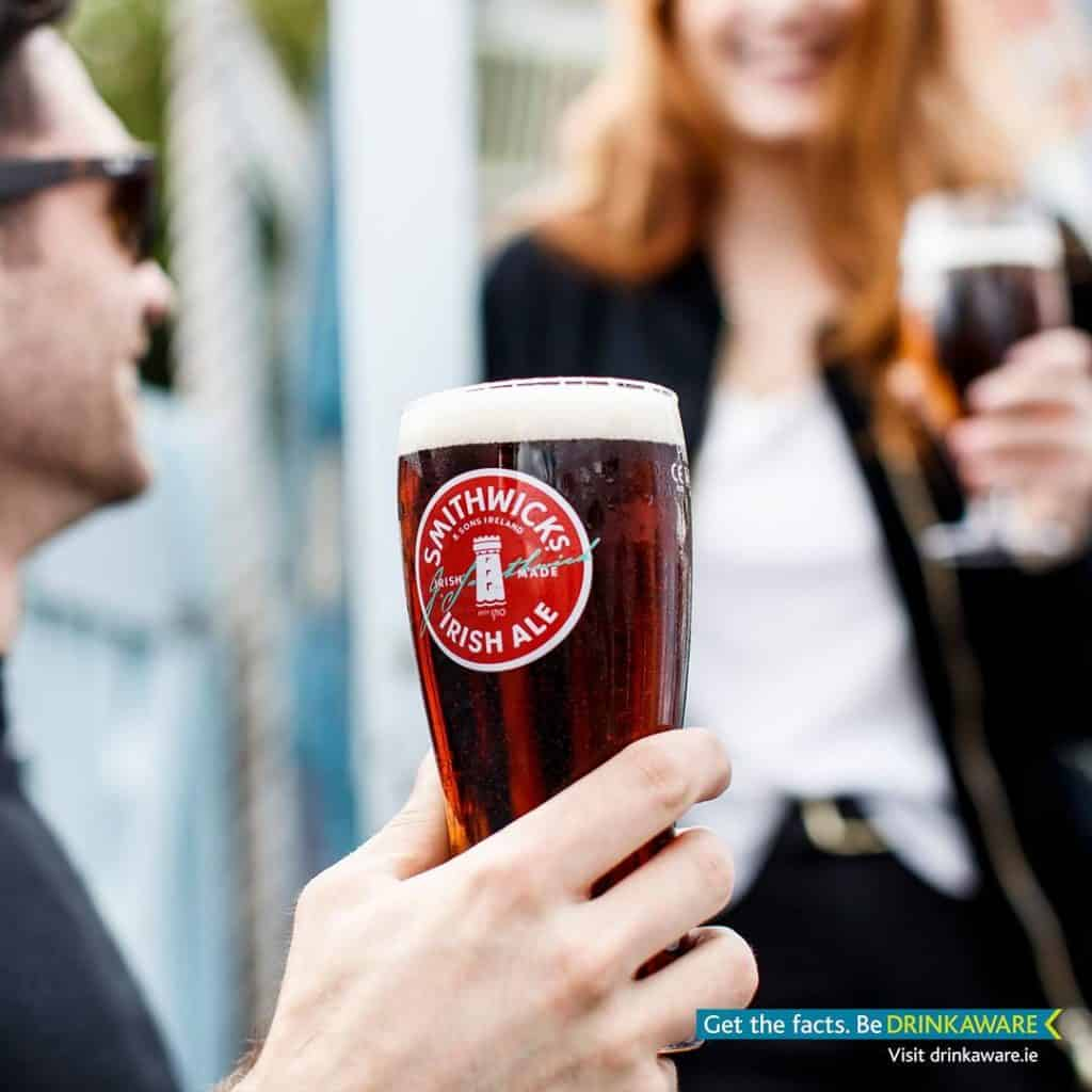 You have to try Smithwicks Irish Red Ale, a delicious beverage.