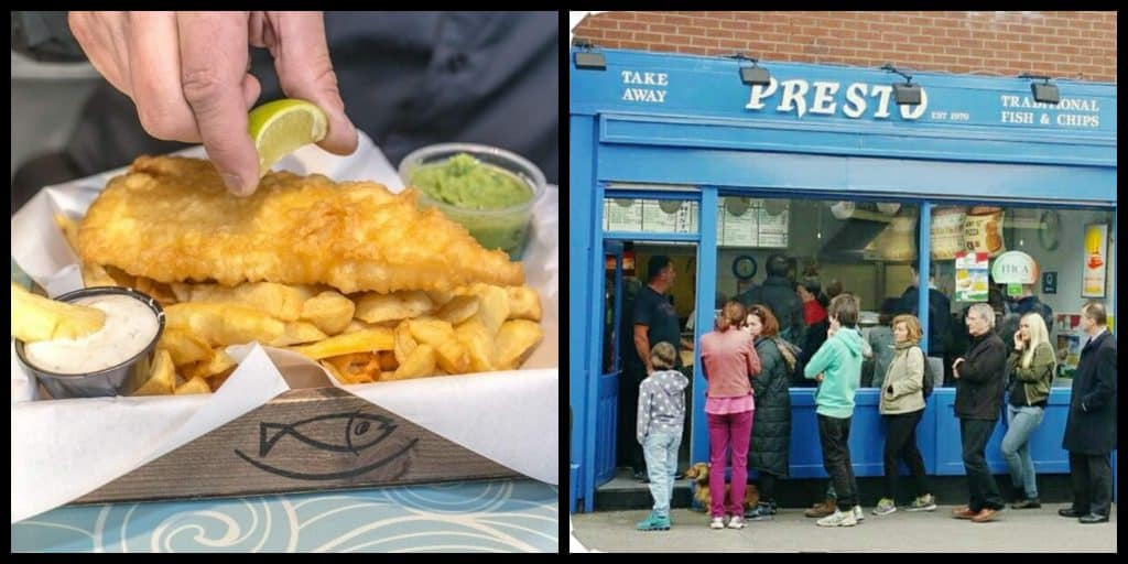 5 best places for Fish and Chips in Dublin