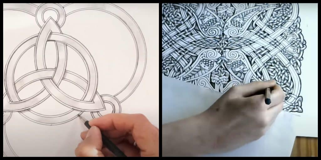 Wondering how to draw Celtic art? Be sure to try out these tutorials.