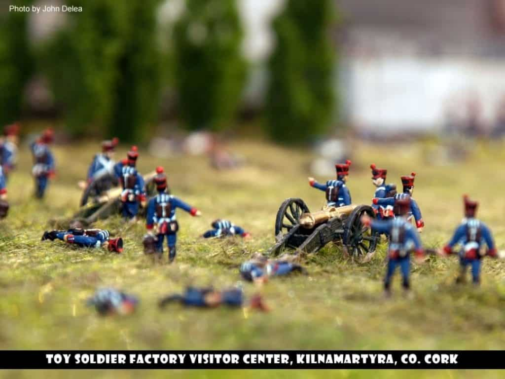 Looking some fun things to do in Cork with kids, visit the Toy Soldier Factory Visitor Centre.