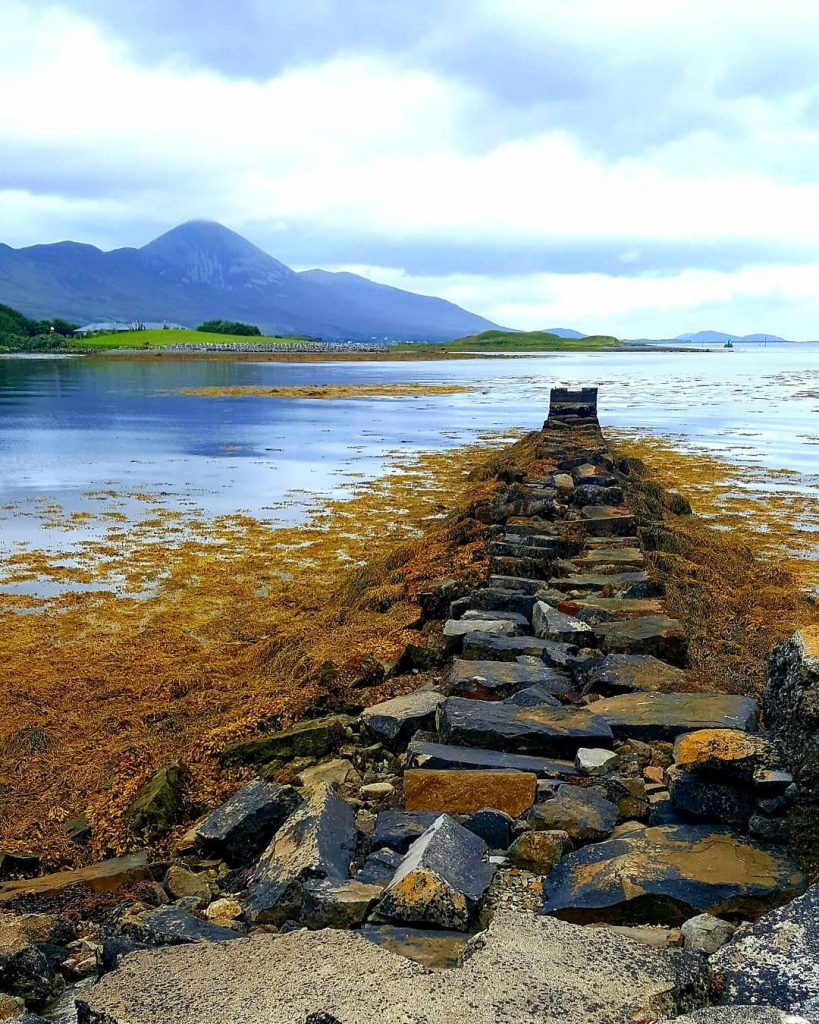 Westport Harbour is full of peace along the coast, be sure to walk it.