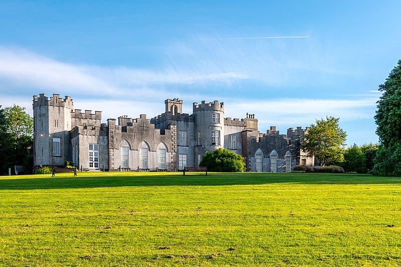 The Ardgillan Castle, one of the best parkruns in Ireland.