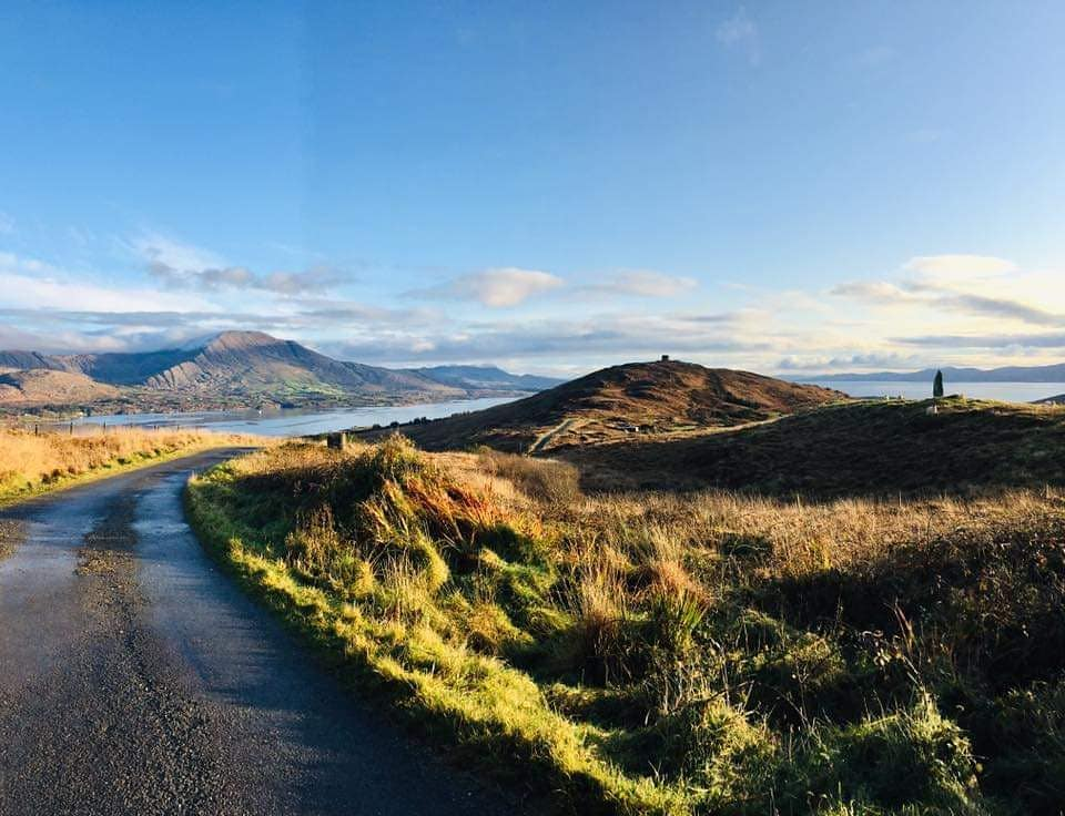The view from Bere Island, where one of the best parkruns in Ireland takes place.