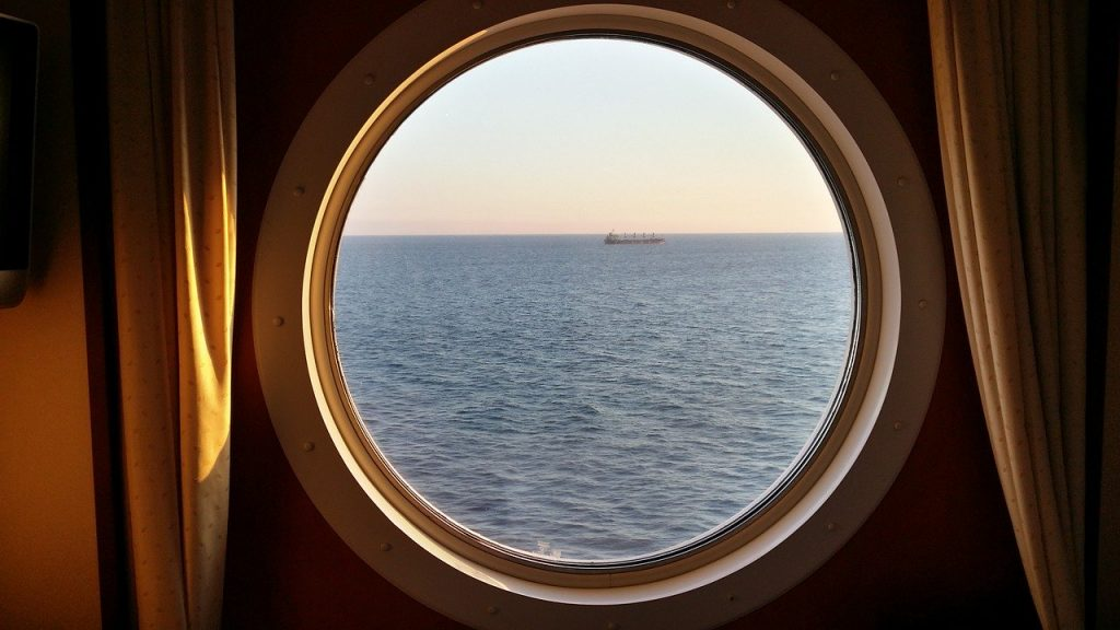 The portholes being left open were a problem.