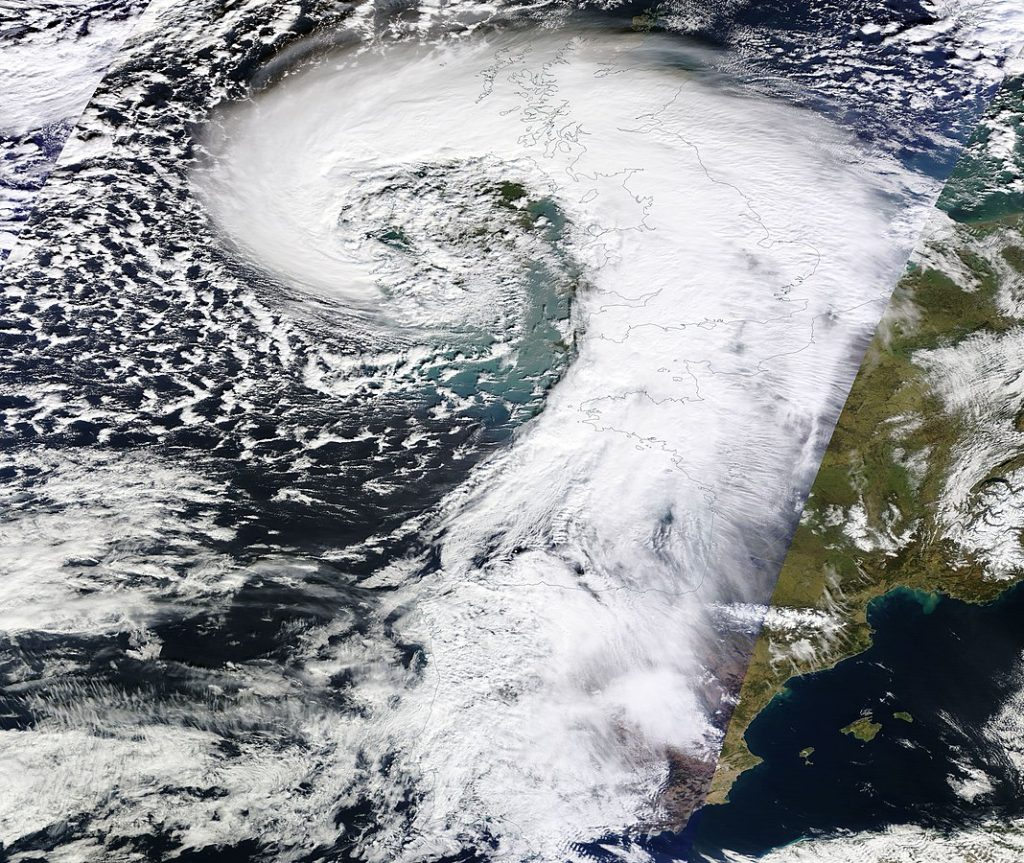Storm Darwin set the record for the highest waves recorded in Irish history.