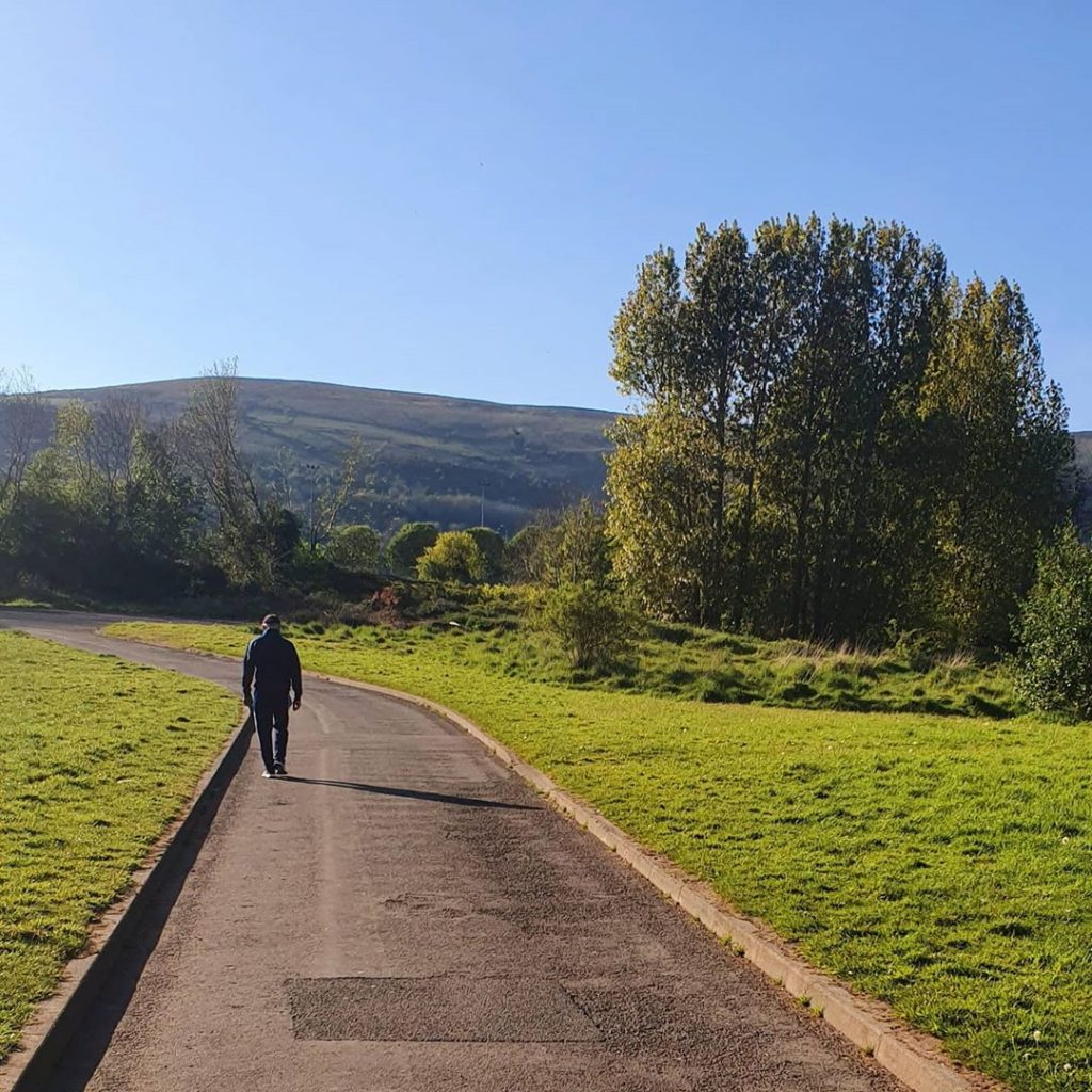 Another of the best walks in and around Belfast is Falls Park.