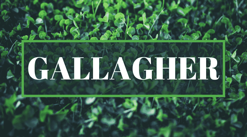 Irish surnames even Irish people struggle to pronounce has to include Gallagher.