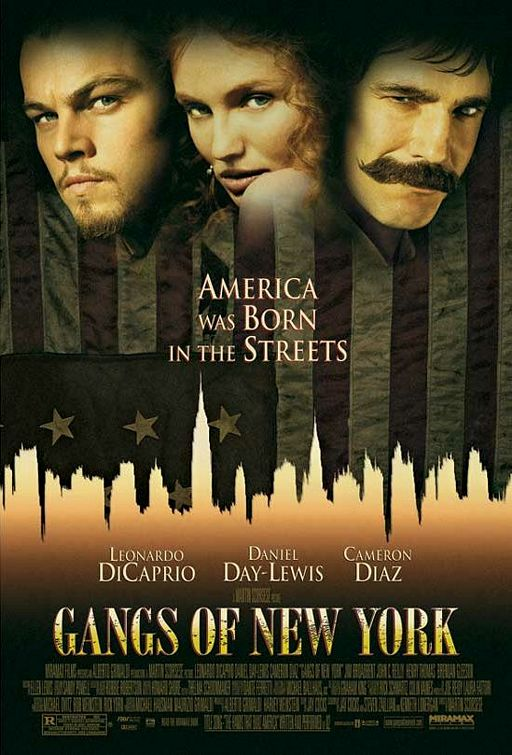 Gangs of New York is a top pick and another of the top best Irish gangster movies.