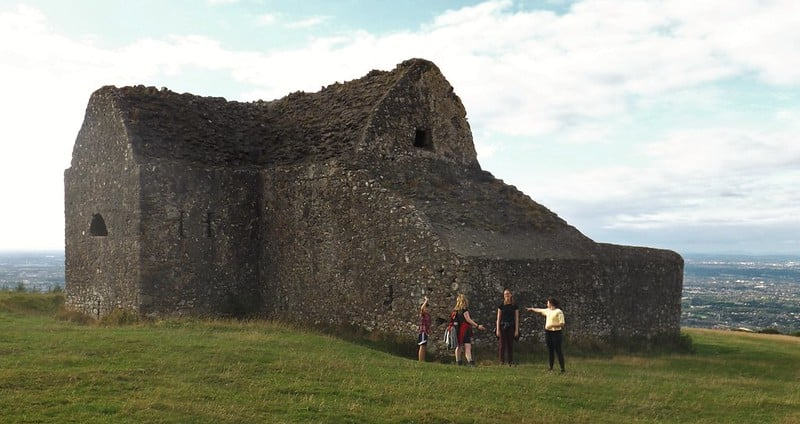 The Hellfire Club, part of one of the best walks in and around Dublin.