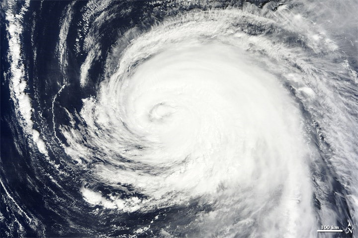 One of the worst hurricanes to ever hit Ireland was Hurricane Katia.