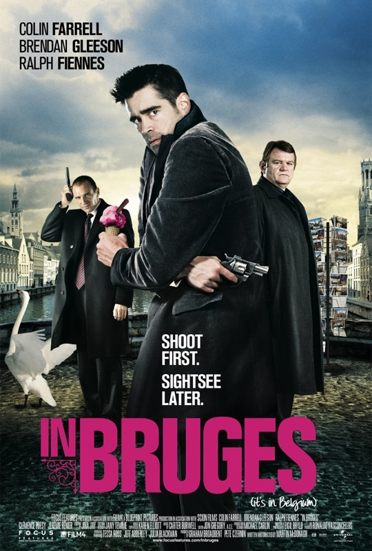 Another of the top Colin Farrell movies is In Bruges.