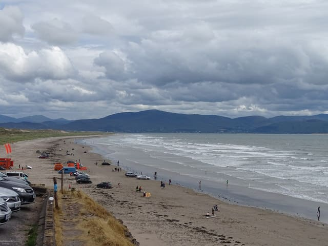 The Inch Beach, where one of the best parkruns in Ireland is hosted.