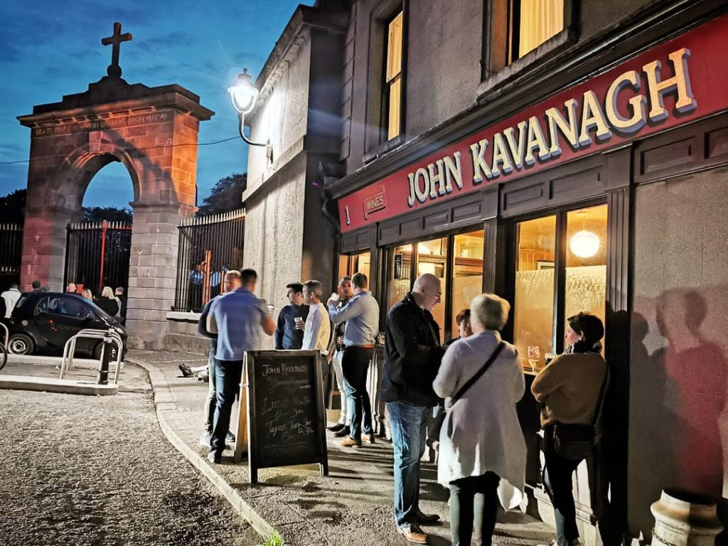 Another of the top Irish pubs to have a pint at is John Kavanagh.