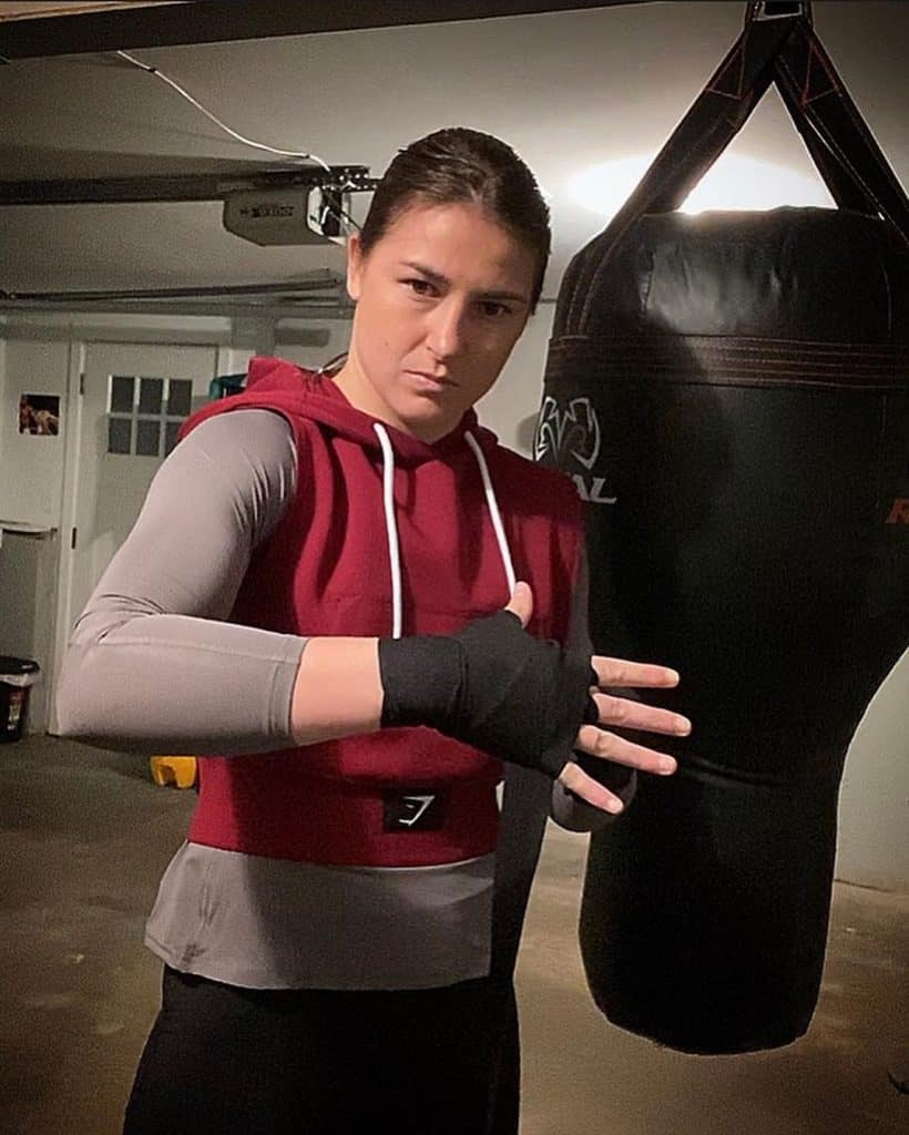 Katie Taylor's early boxing days were full of determination and drive.