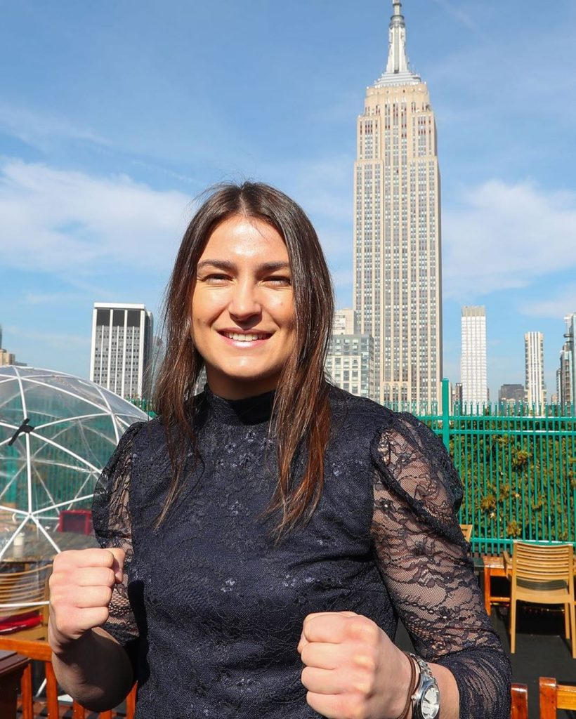 Katie Taylor is ever growing and now lives in New York.