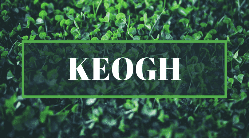 Keogh is one of the top Irish surnames even Irish people struggle to pronounce.