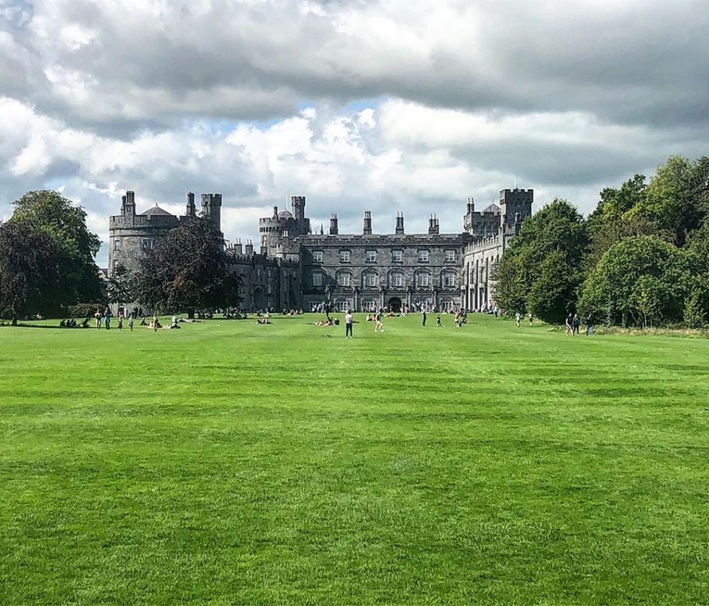 View of Kilkenny Castle, where one of the best parkruns in Ireland take place.