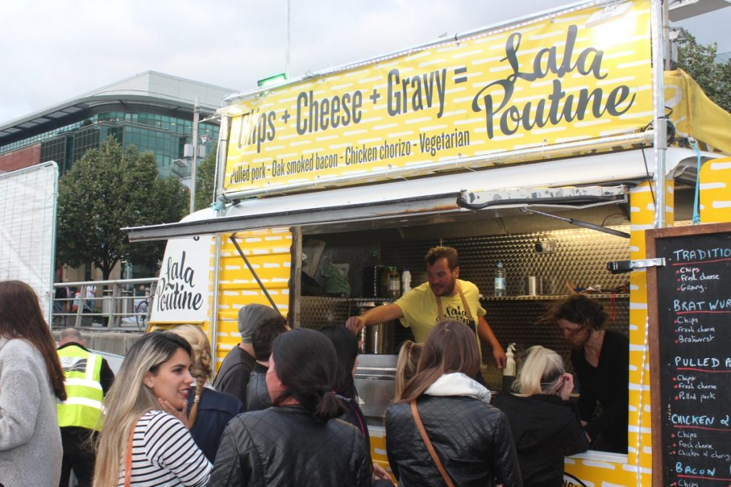 Lala Poutine is the ultimate hangover cure and one of the top food trucks and pop-ups in Ireland.