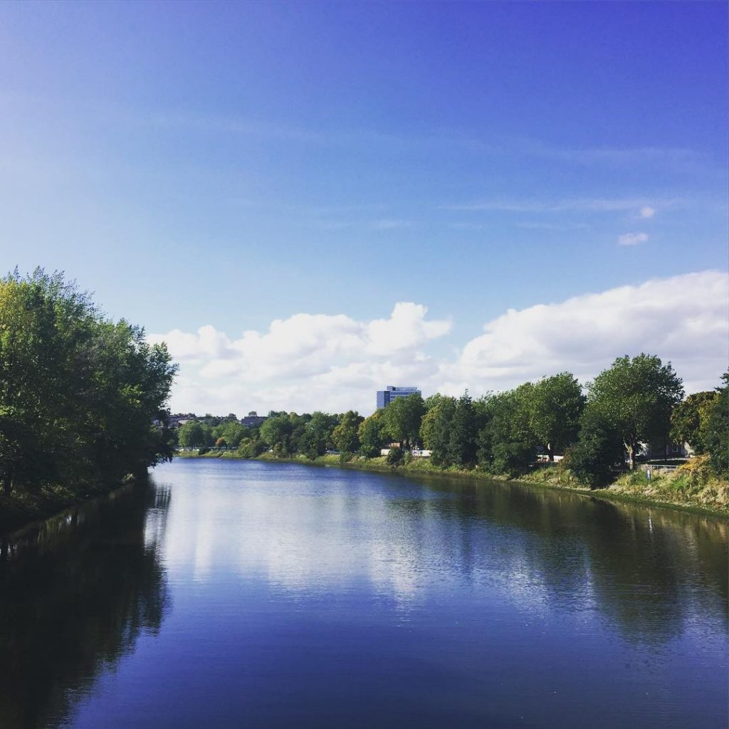 Ormeau embankment is another peaceful river walk.