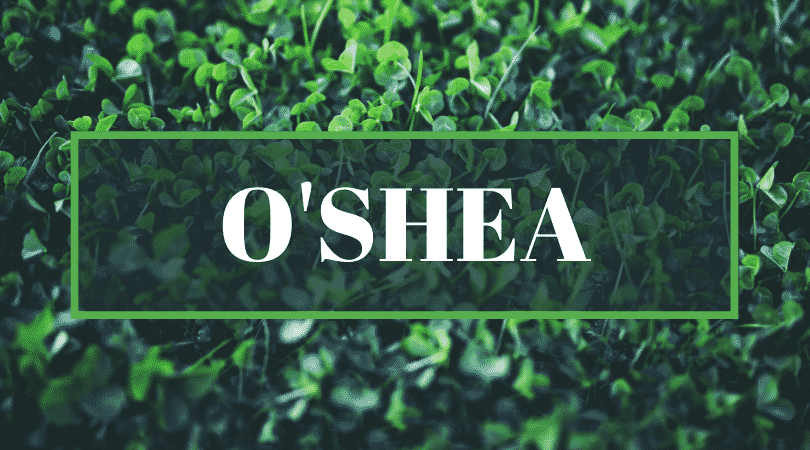 O'Shea is another of the top mispronounced surnames.