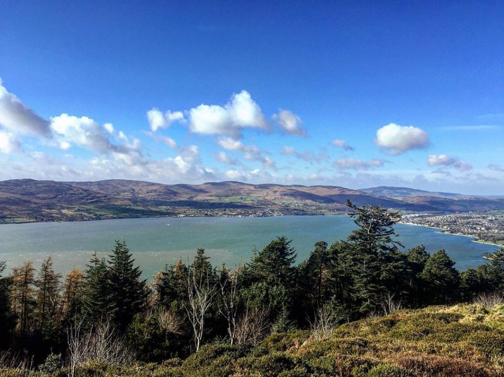 Rostrevor, the location of the best parkrun in Ireland.