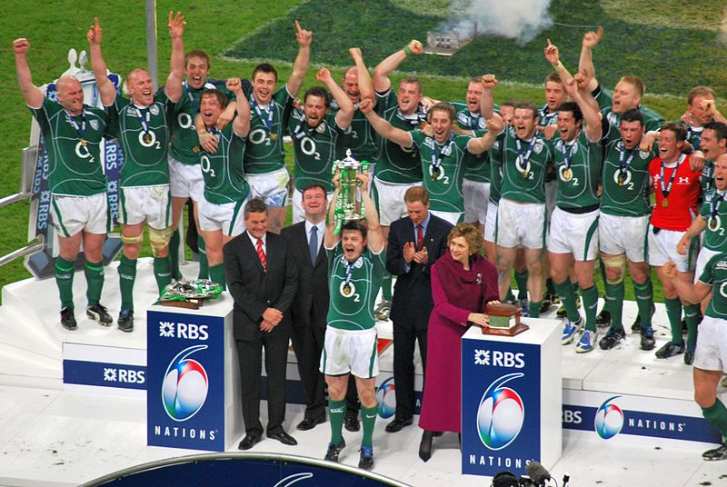 Ireland do very well in sports, a sign of the luck of the Irish.