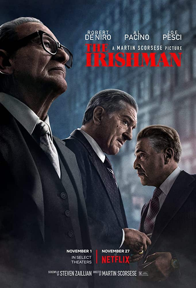 The Irishman is another of the best Irish gangster movies.