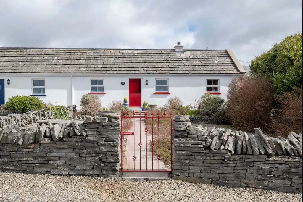The Red Stonecutter's Cottage truly is another of the top adorable cottages in Ireland.
