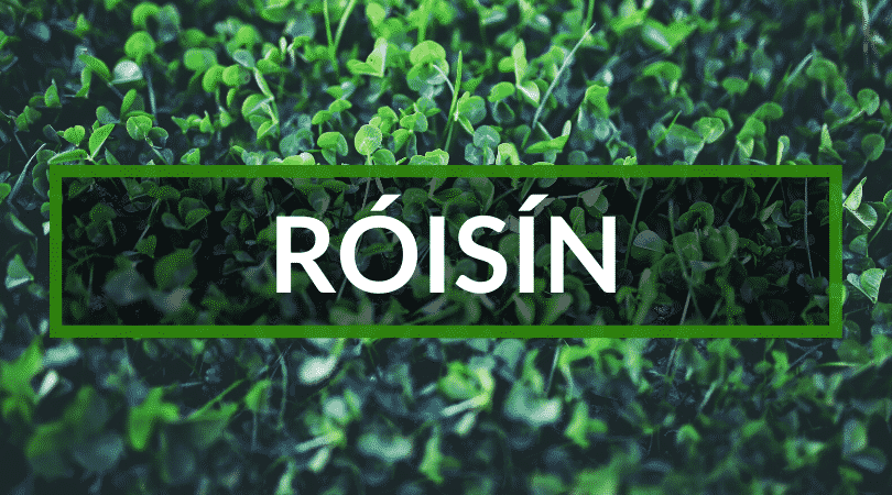 Róisín is another of our top picks for Irish girl names.