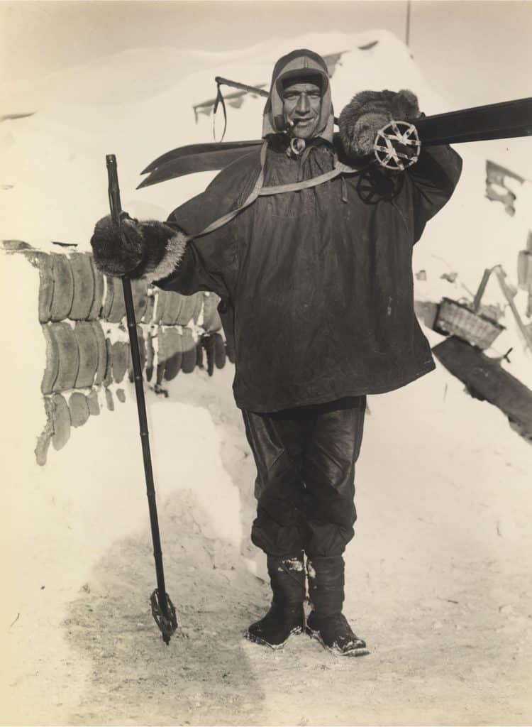Tom Crean's final expedition  took place aboard the Terra Nova.