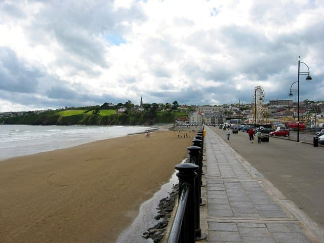 A photo of the Tramore Promenade, host of one of Ireland's best parkruns.