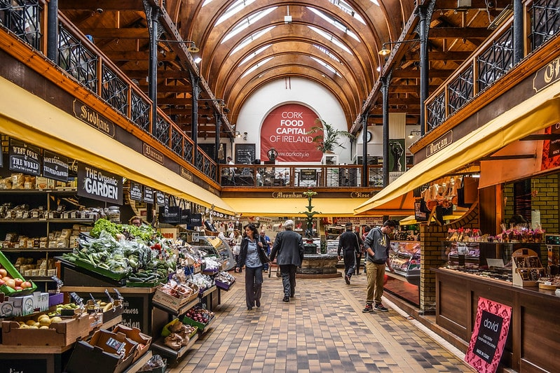 Browse local produce at the English Market – shop 'till you drop, Cork style