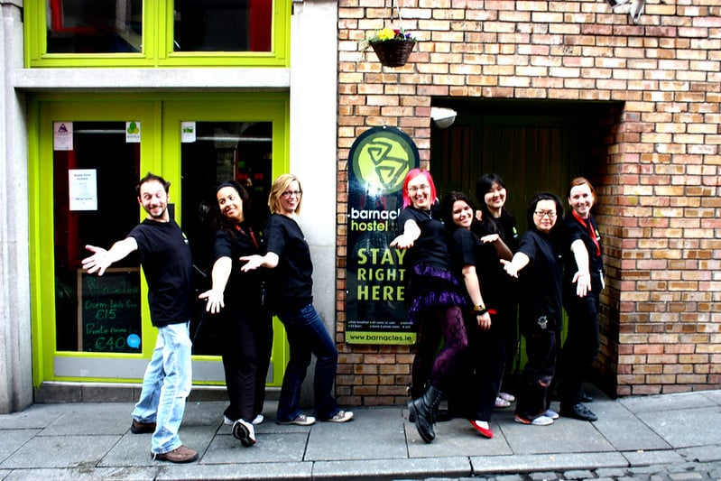 The Barnacles Hostel in the Temple Bar area is a cheap place to stay and a good choice if you are limiting your daily costs to Dublin.