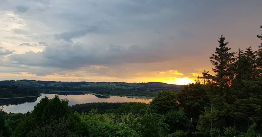 The Rose Cottage in Wicklow is in an ideal location to explore the Blessington Lakes and is one of the best cottages in Ireland that you can stay in.