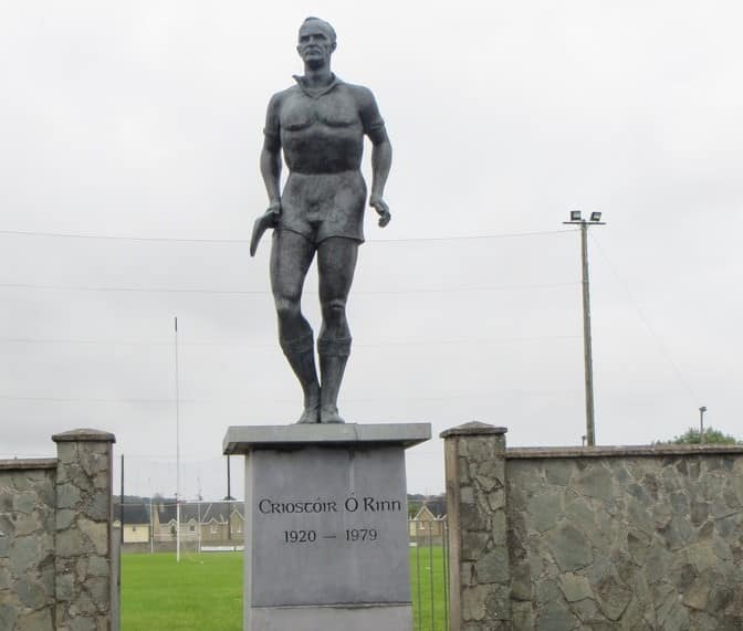 Christy Ring Statue (Cloyne, Co. Cork) – a tribute to one of the greatest hurlers of all time