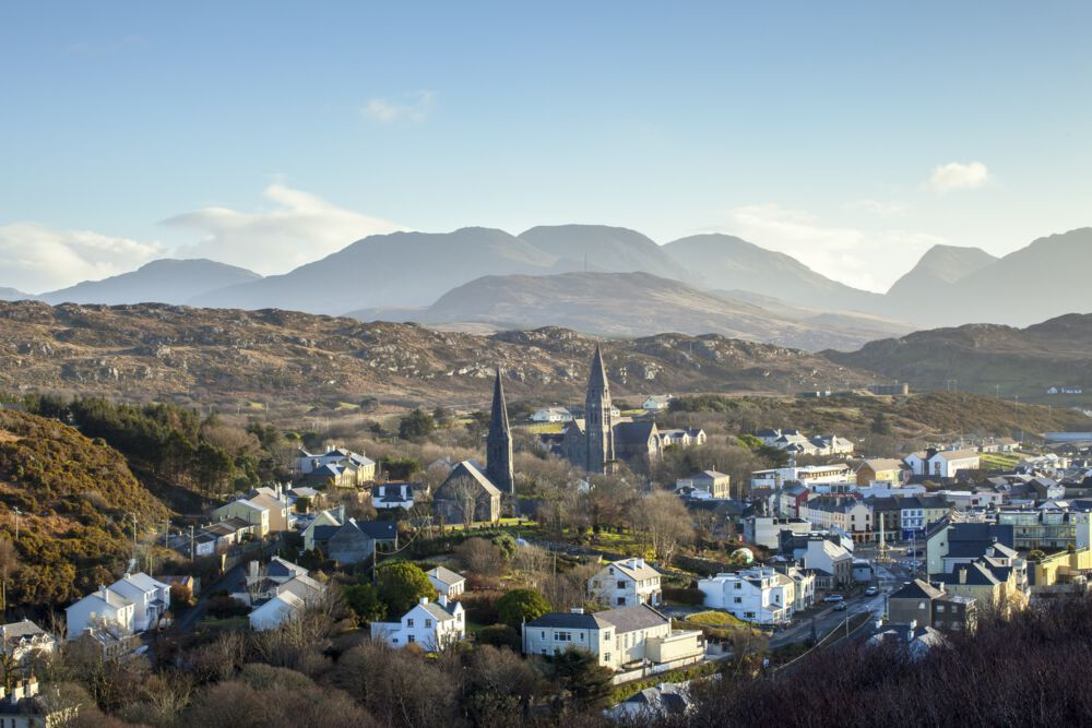Clifden is straight out of a storybook.