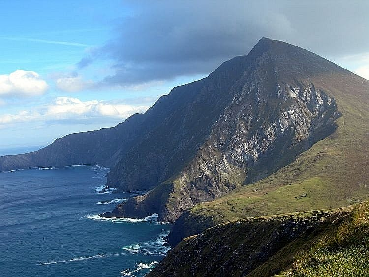 Mayo is where you will find the highest cliffs in the country – the third largest in Europe