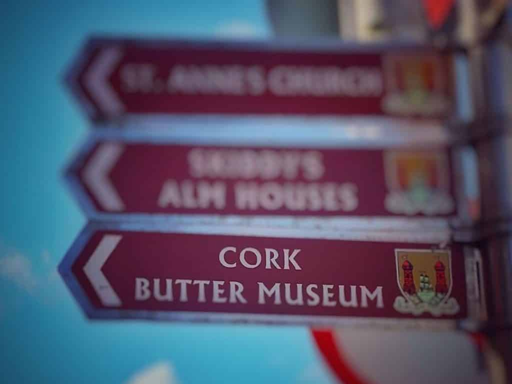 The Cork Butter Museum – to learn about butter, of course