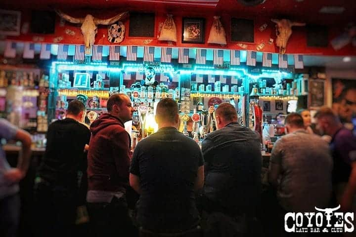 Coyotes Late Bar and Club – Galway's American theme bar