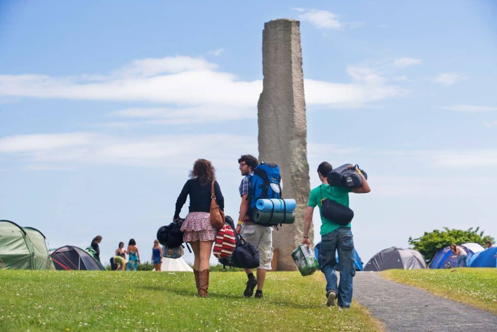 History – home to Ireland's largest megalith