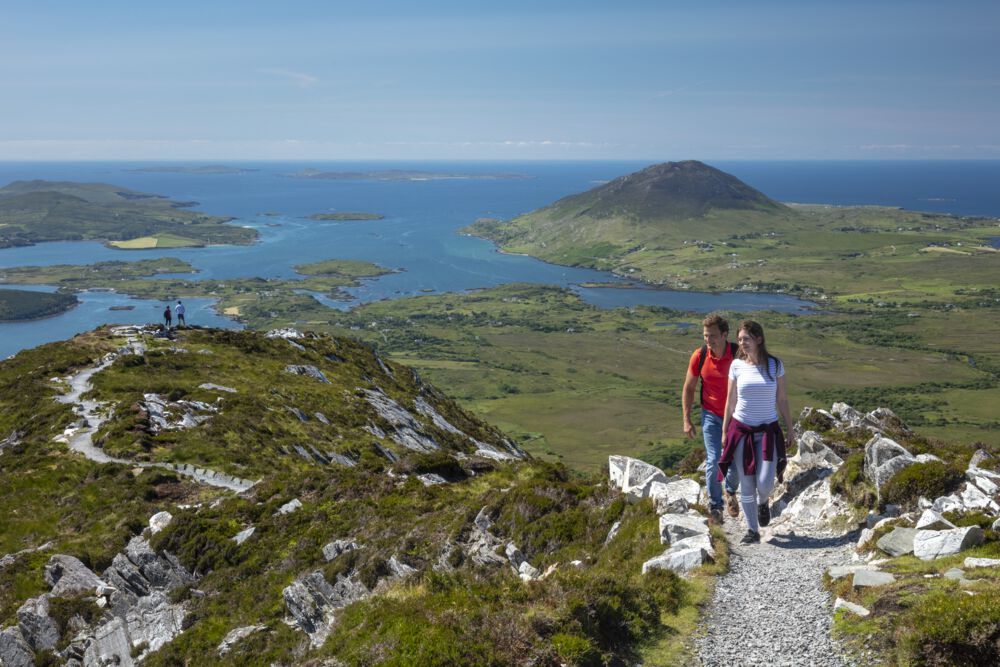 Diamond Hill is up there with the best hikes in Ireland that are straight out of a fairy tale/