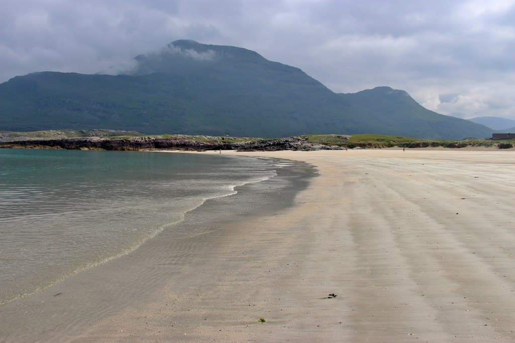 The Beach Cottage in Galway is one of the best cottages in Ireland that you can stay in and is right next to the Glassilaun beach.